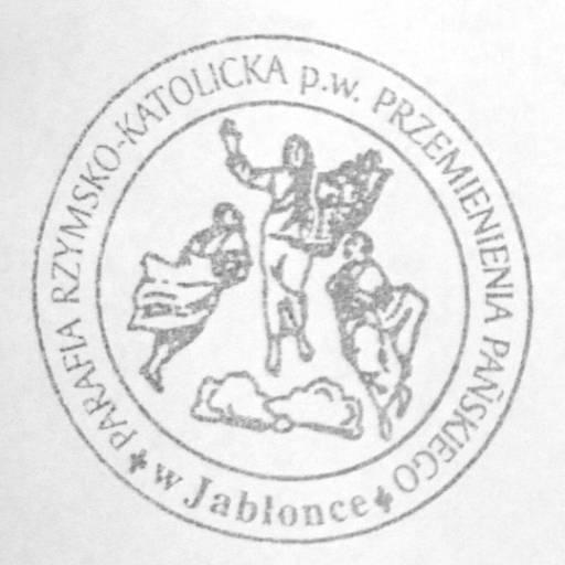 Parafia Przemienienia Pańskiego w Jabłonce